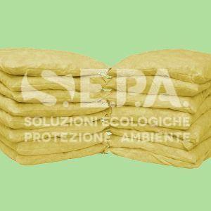 Cuscino chem – box 10 pz – assorbente per sostanze chimiche pericolose